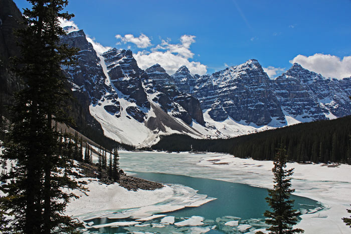 Moraine Lake, Banff-Nationalpark, Alberta, Kanada